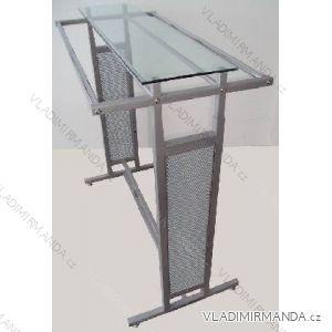 Kombiständer höhenverstellbar mit ST0002 Glasplatte