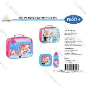 Set Snackbox Flasche gefrorenes Mädchen SUN Stadt rna101403
