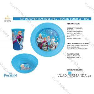 Gefrorenes Ess-Set für Kinder (3 Teile) SUN CITY RNC102397