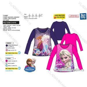 T-Shirt Langarm Baumwolle Gefrorenes Baumwoll Mädchen (4-8let) SUN CITY HQ1208