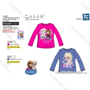 T-Shirt Langarm gefrorenes Baby (4-8let) SUN CITY PHQ1006