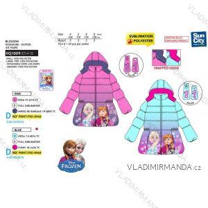 Winterjacke mit gefrorenem Baby mit Kapuze (4-8 Jahre) SUN CITY HQ1009