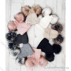 Winter-Sweatshirt mit Spitze und Damenpelz (uni) POLEN PV617013