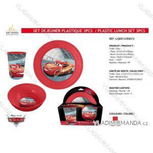 Speiseset Autos Kinder Jungen (3 Teile) SUN CITY LQ0012