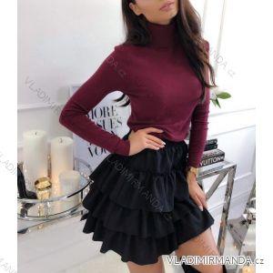 Pullover Rollkragenwolle (s / ml / xl) ITALIENISCHE Mode IM4181067