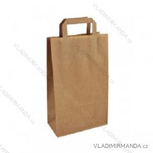 Papiertüte Kraft 22 + 10x36 50 Stück / Paket