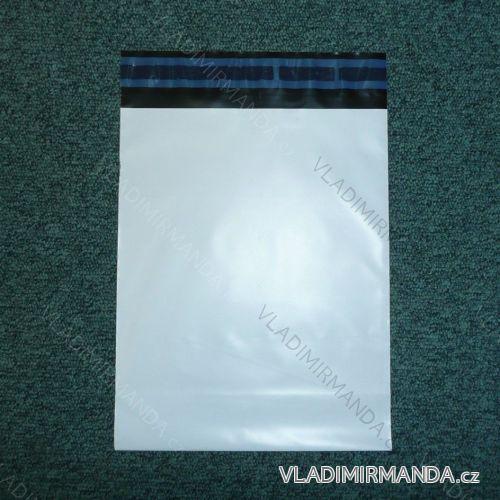 Einfarbige E-Shop-Tasche mit permanentem Klebeband (200x250 + 40 + 40x0,07) ES200250