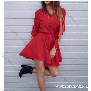 Anzughemden dünn 3/4 langarm (uni sl) ITALIENISCHE Mode IMT18570