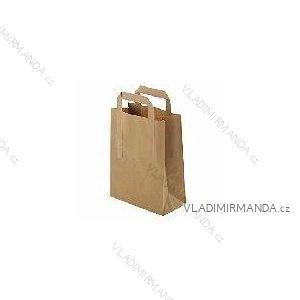 Papiertüte Kraft 26 + 12x35 50 Stück / Paket