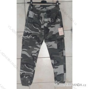 Teplaky slabá camouflage Frauenknöpfe (uni s / m) ITALIENISCHER MODUS IM519420