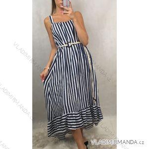 Langes Sommerkleid für Damen (uni sm) ITALIAN MODE IM919157