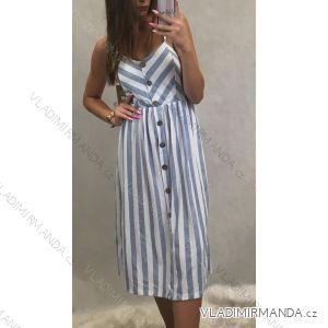 Sommerkleider auf Kleiderbügeln Damenstreifen (uni s / m) ITALIENISCHER MODUS IM319205