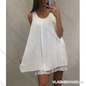 Sommerkleider für Damen Kleiderbügel (uni s / m) ITALIAN FASHION IM719238