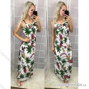 Ärmellose lange Damen-Sommerkleider (s-xl) ITALIENISCHE Mode IM108NK8455