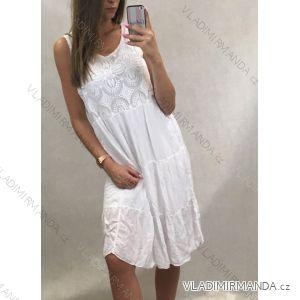 Kleidet langen Streifen der Sommerfrauen (uni sl) ITALIENISCHE Art und Weise IM918186