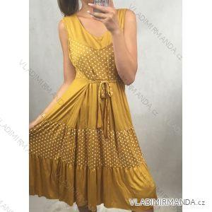 Damen Kurzarm Kleid (uni m / l) ITALIAN MODA IM319368