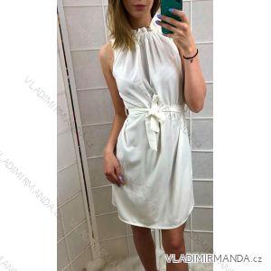 Kurzes Sommerkleid Damen (uni s / m) ITALIENISCH MODA IM919470