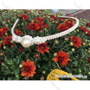 Perlen Stirnband (Einheitsgröße) BIZ19012 SCHMUCK