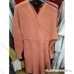 Damenpulloverkleid (uni sl) ITALIAN MODA IM9195551