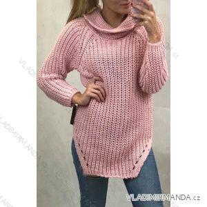 Damenpullover Langarm (uni sm) ITALIENISCHE MODE IM4191711