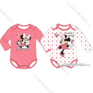 Lange Ärmel Minnie Mouse Baby Mädchen Baumwolle (3-24 Monate) EPLUSM DIS MF 51 01 1105 SINGLE