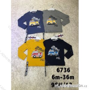 T-Shirt Langarm Warm Baby Jungen (6-36 Monate) AKTIV SPORT ACT186810