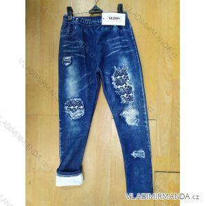 Jeans Leggings wärmen lange Kinder und Teenager (8J-16J) SEZON SH-122