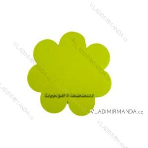 Blumenanhänger 'gelb. Paket 100 Stück