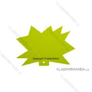 'Igel'-Tags 120x88, gelb, Packung 100st.