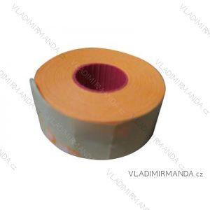 Preisetiketten abgewinkelt in verschiedenen Farben 25x16 mm