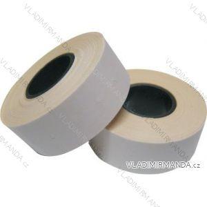 Preisetiketten quadratisch weiße Farbe 22x12 mm